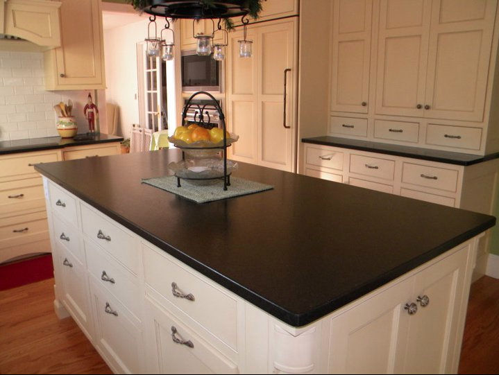 Cambrian Black Granite : New cambrian black leathered primestones