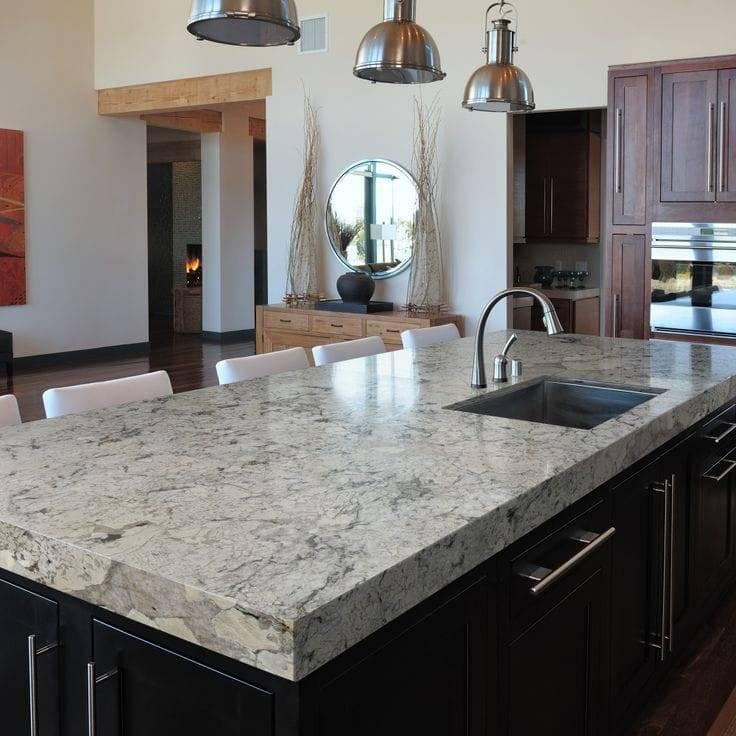 White Ice Primestones Granite Quartz Marble