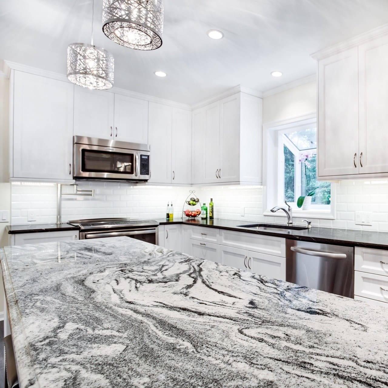 19 White Kitchen Cabinets Quartz Countertops White