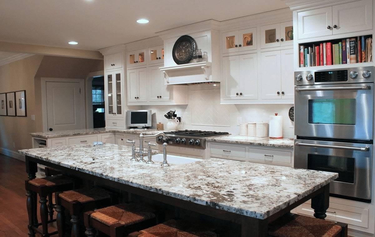 Alaska White Primestones Granite Quartz Marble