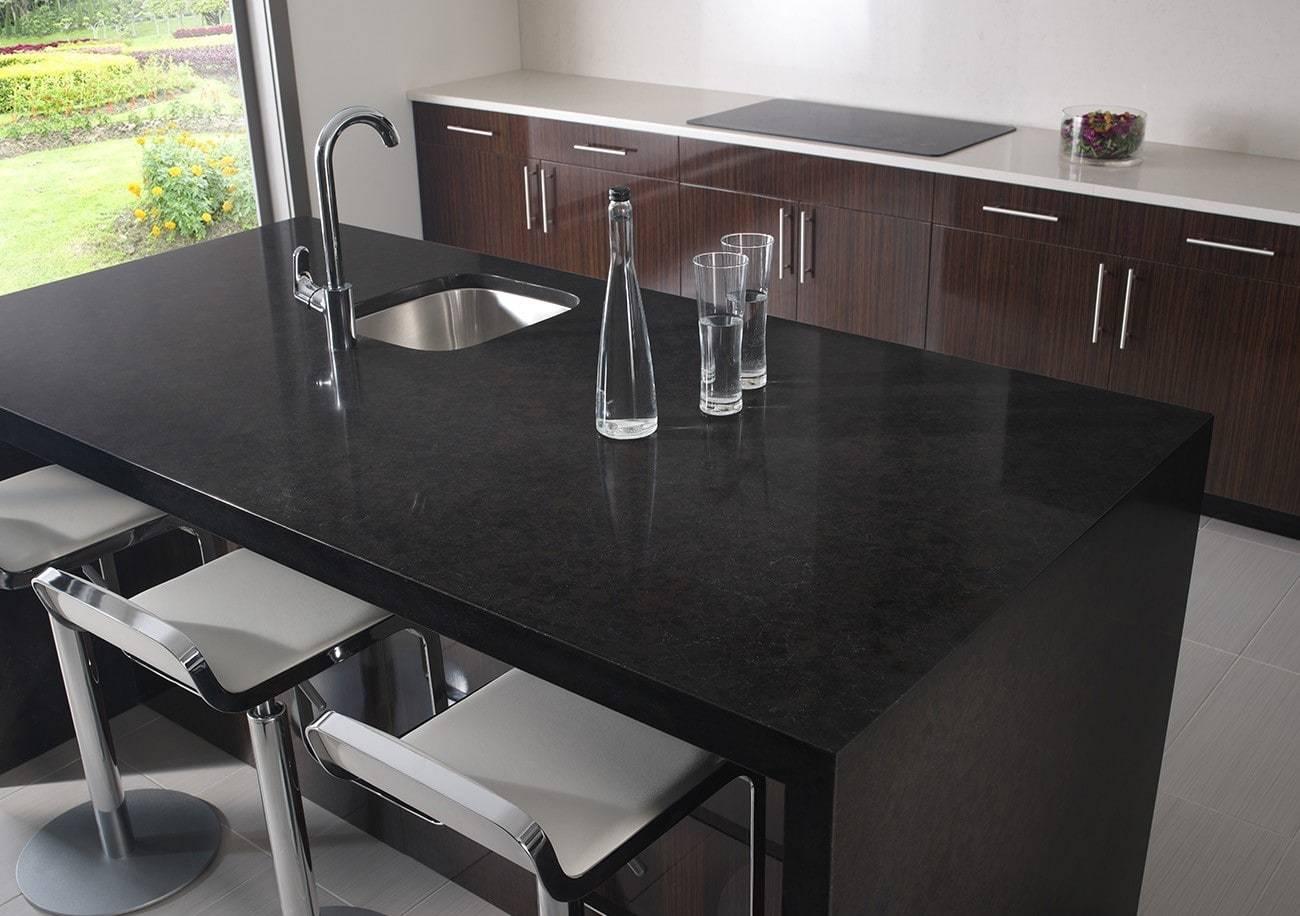 Iconic Black Primestones 174 Granite Quartz Marble