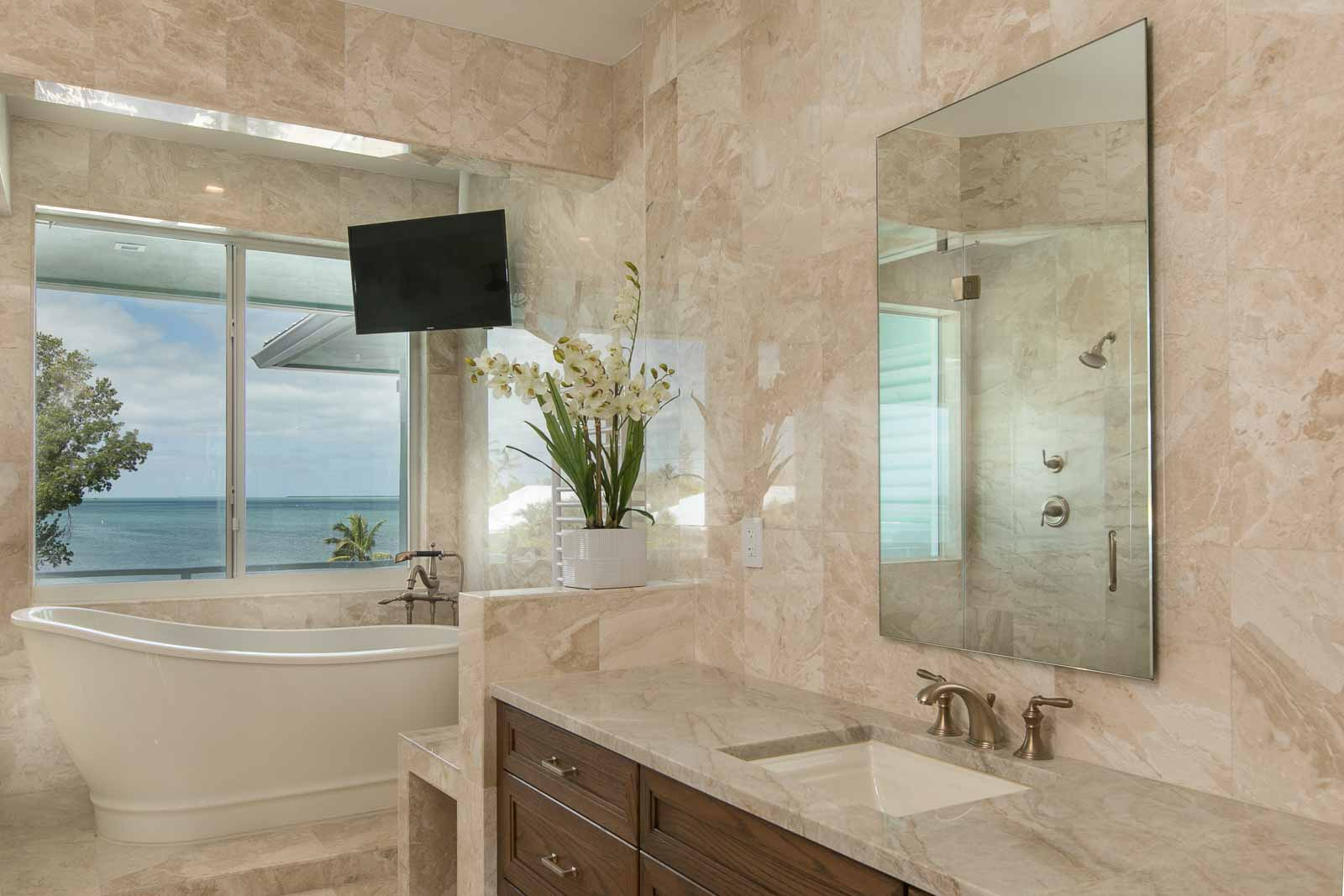 Taj Mahal Bathroom 2 1, Primestones® Granite, Quartz, Marble
