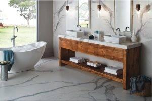 Porcelain Bathroom (Image Credits BuilderOnline.com)
