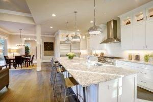 Snowfall Granite Kitchen