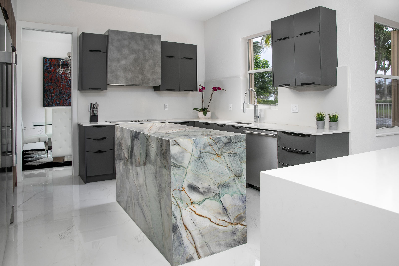 Arizona Shadow Kithchen 10, Primestones® Granite, Quartz, Marble