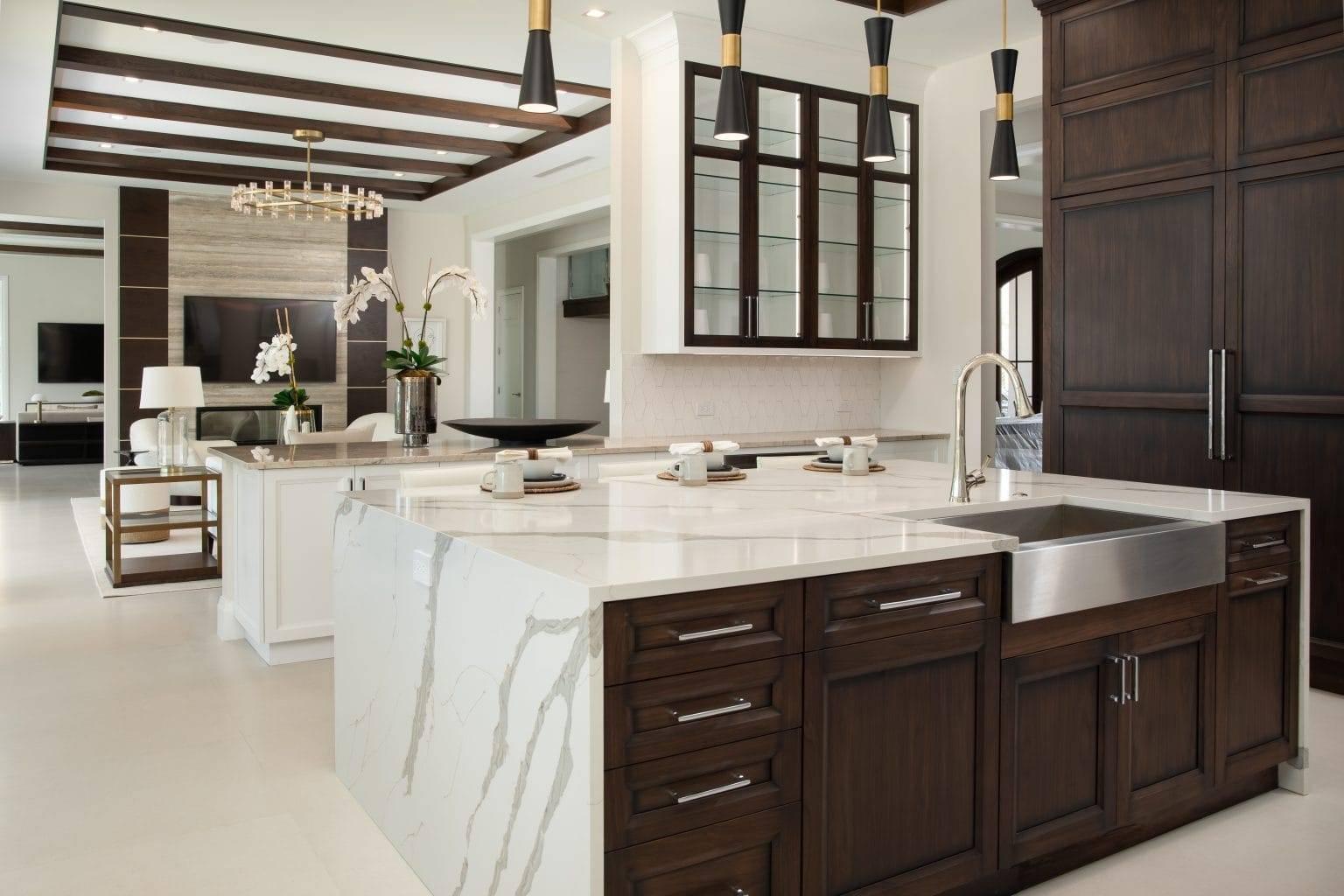 Verona Quartz Island Fire Place 1536x1024, Primestones® Granite, Quartz, Marble