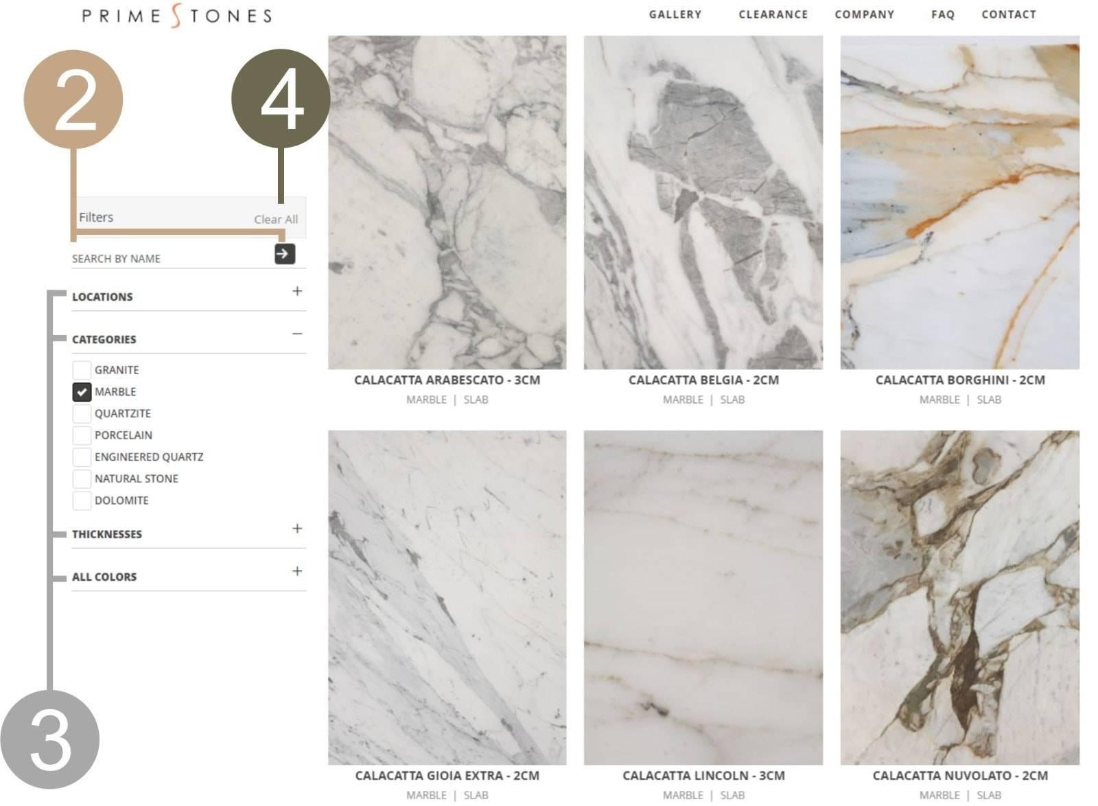 Phold, Primestones® Granite, Quartz, Marble